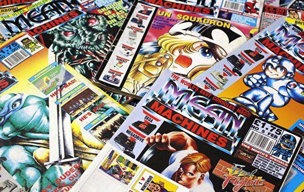 retro gaming magazines – Retro Gaming Blog