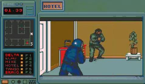 Hostages Amiga 500 game by infogrammes