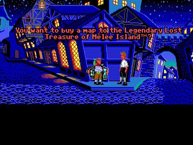 Monkey Island Amiga 500